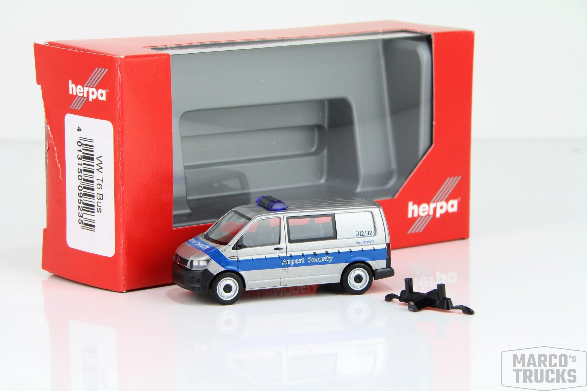 Herpa MiniKit VW T6 Kasten 013550 //HN306 weiß Nr